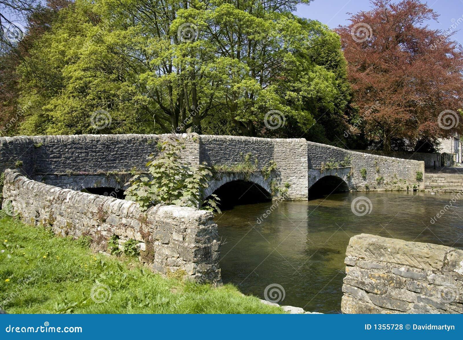 Ashford in het nationale park Derbyshire van het water piekdistrict
