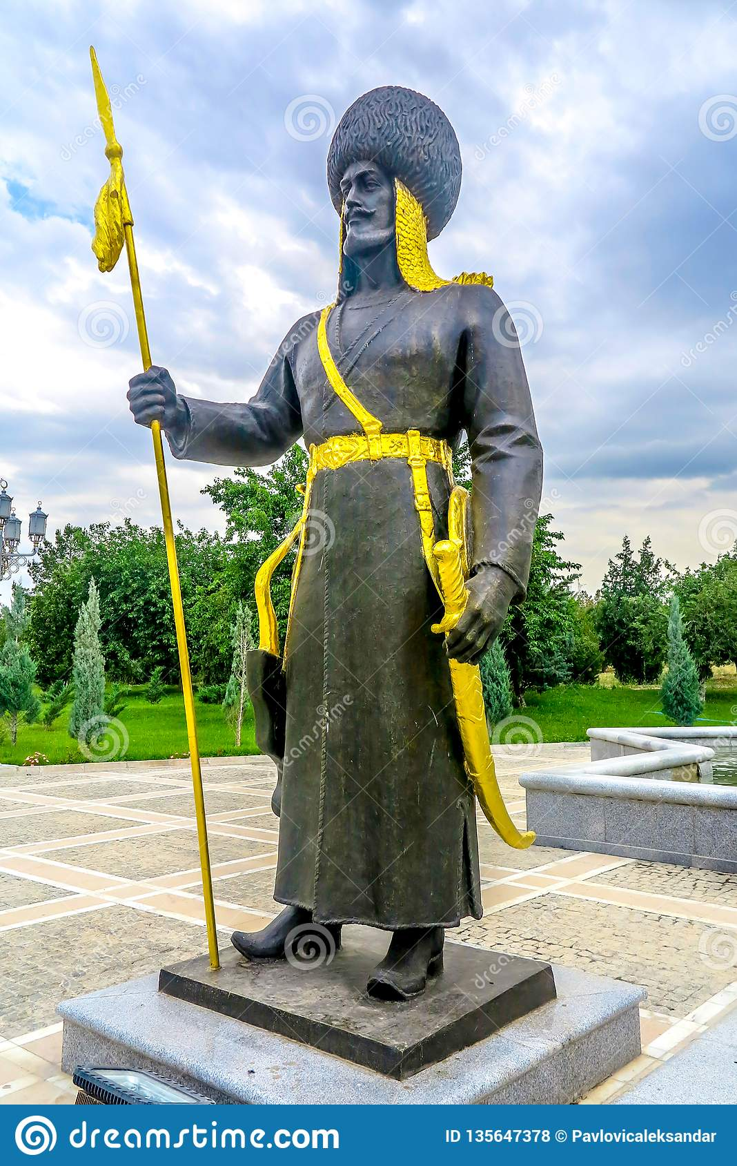 Ashgabat niezależności zabytek 03