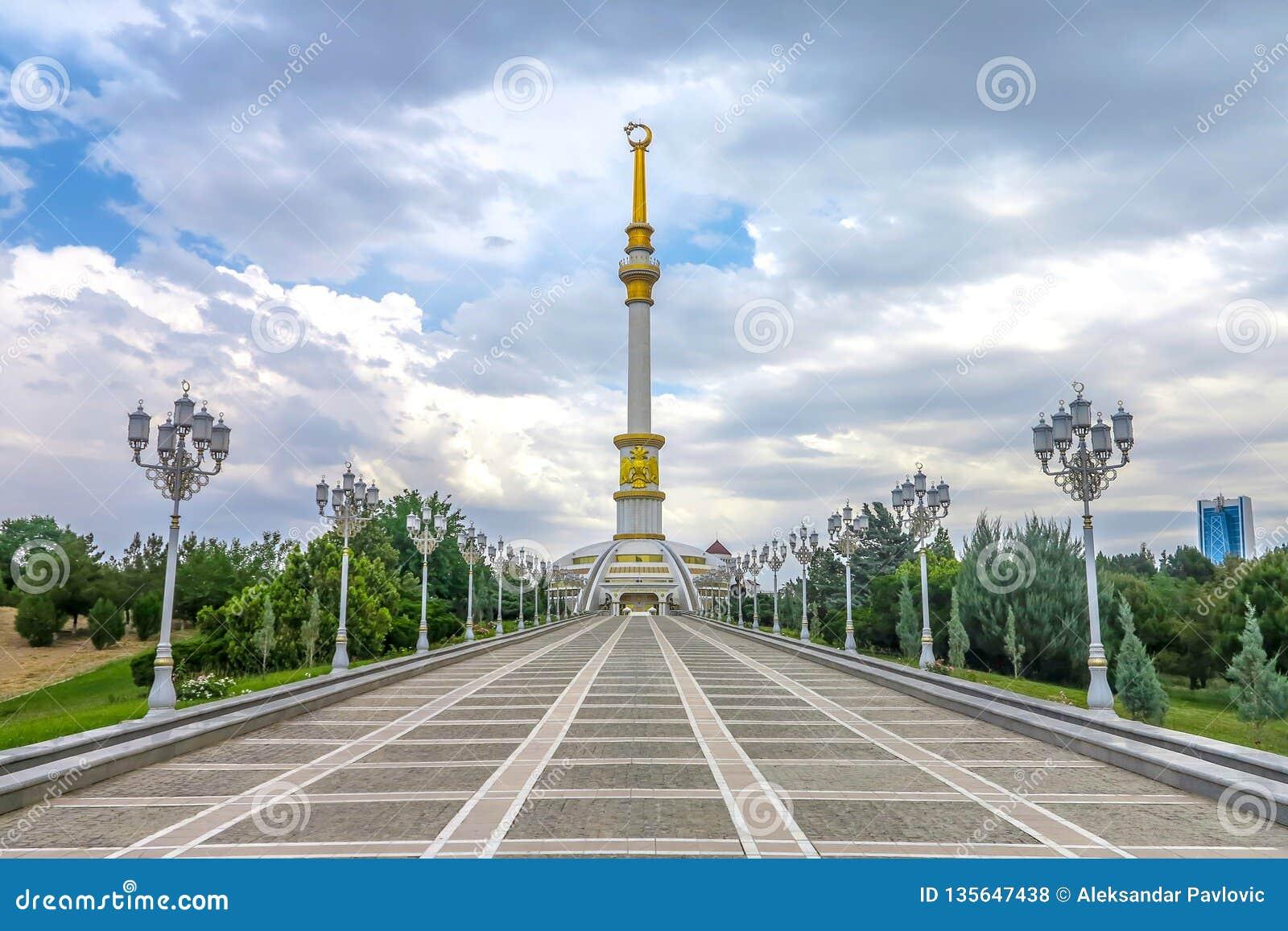 Ashgabat niezależności zabytek 05