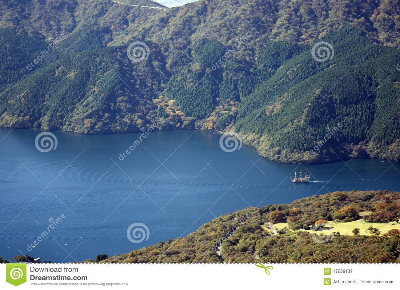 Ashi Japan jezioro