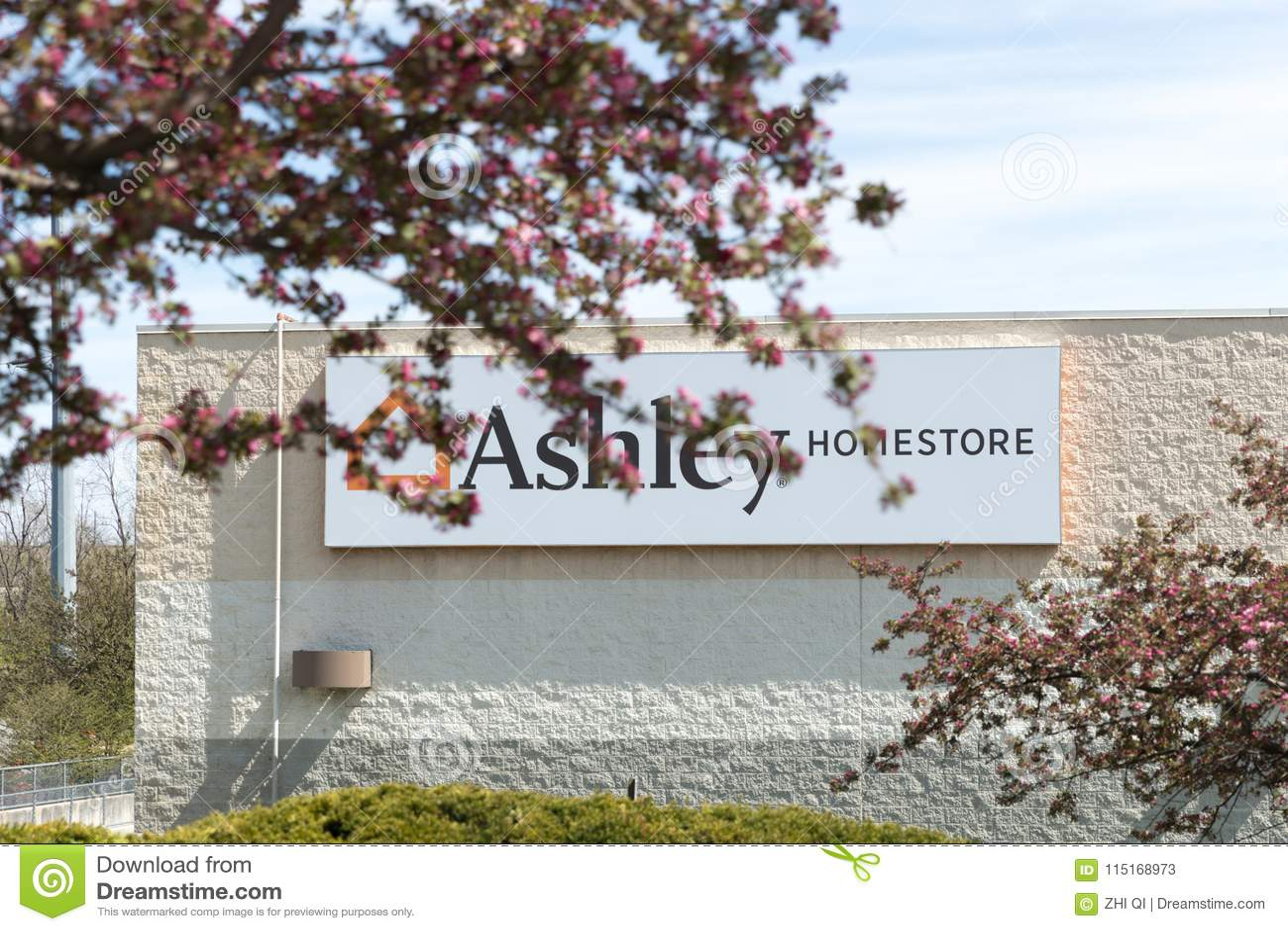 Ashley Furniture Homestore Retail Editorial Stock Photo Image Of