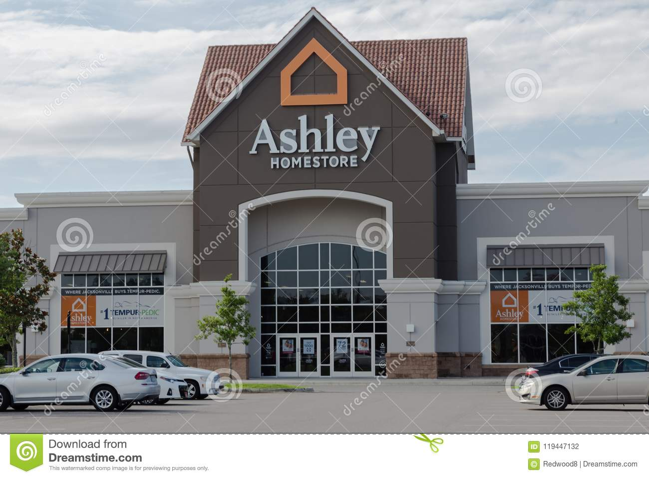 Ashley Homestore Storefront Editorial Photography Image Of Chain
