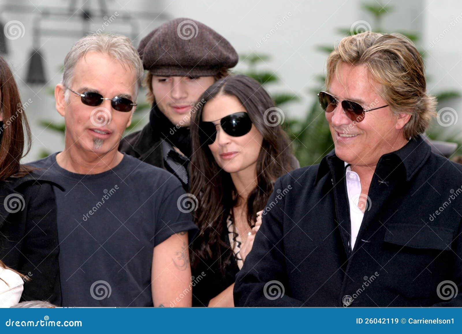 Ashton Kutcher, Billy Bob Thornton, Demi Moore, Don Johnson, Bruce Willis, PLOMBS Thornton de Billy