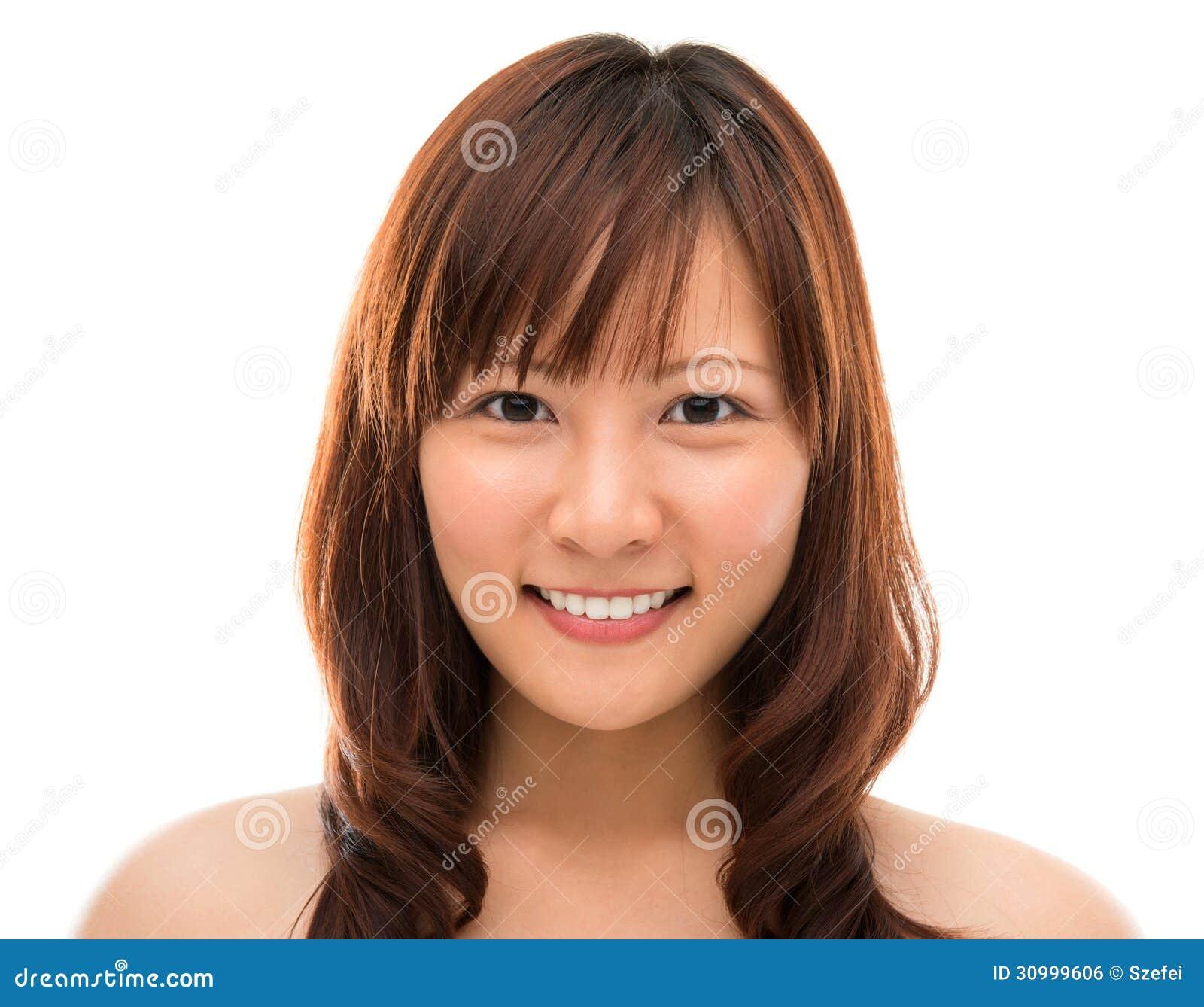 Asiático del primer de la cara