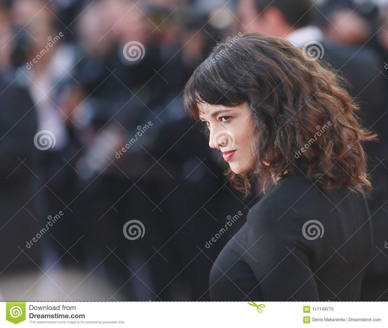 Asia Argento attends Closing Ceremony