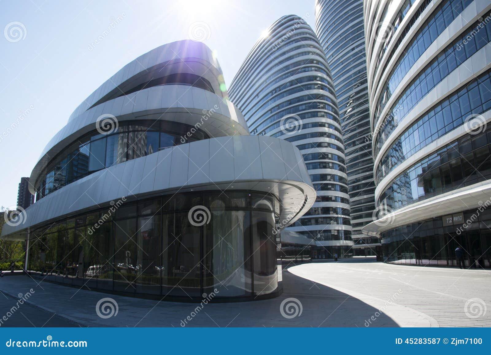 In Asia Beijing China Modern Architecture Wangjing Soho