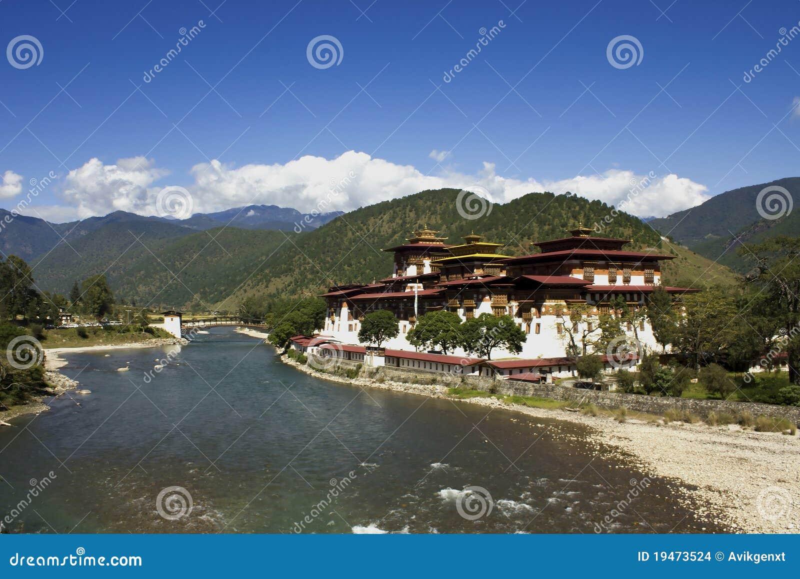 Asia bhutan klosterpunakha
