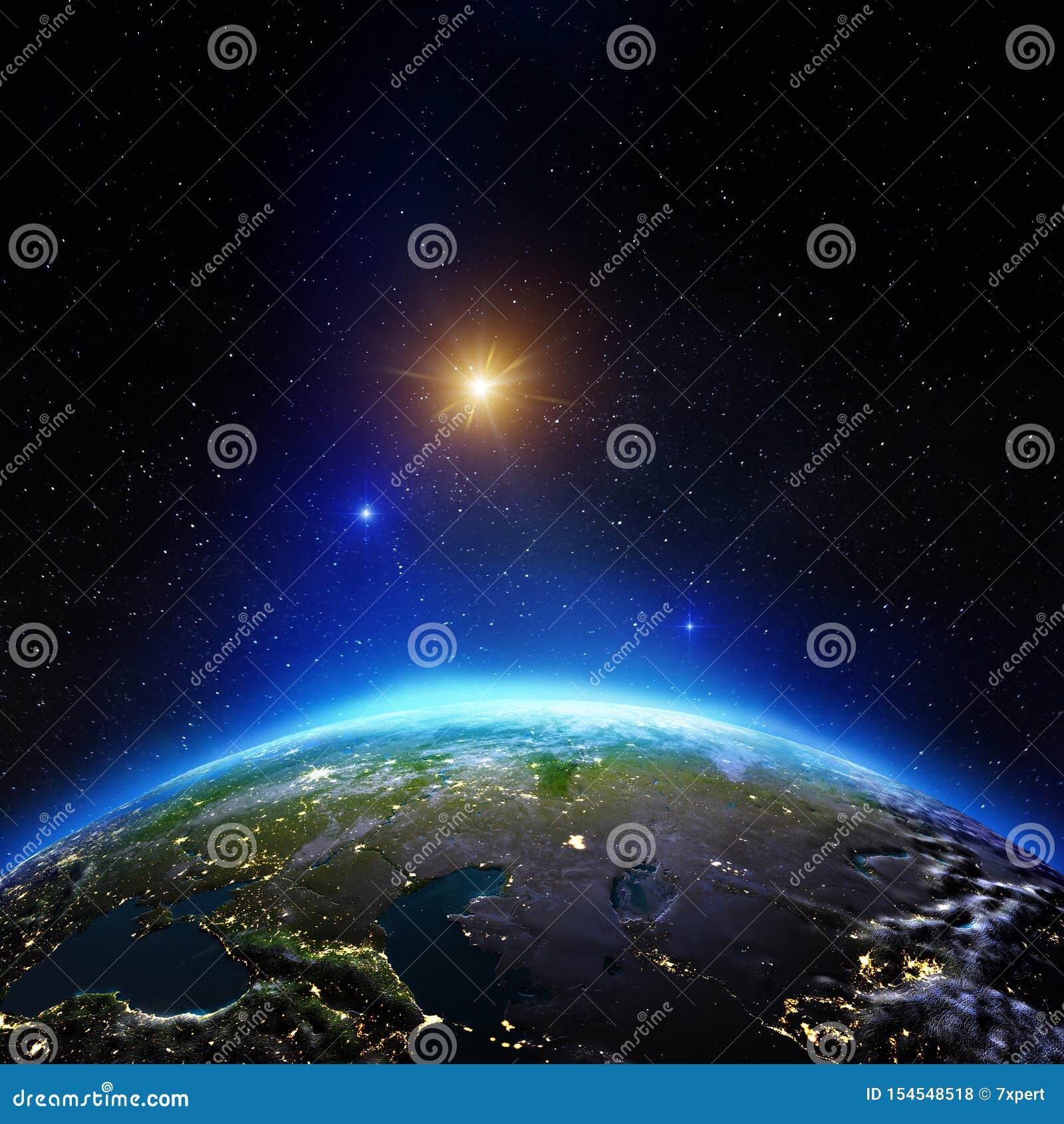 Asia Central del espacio