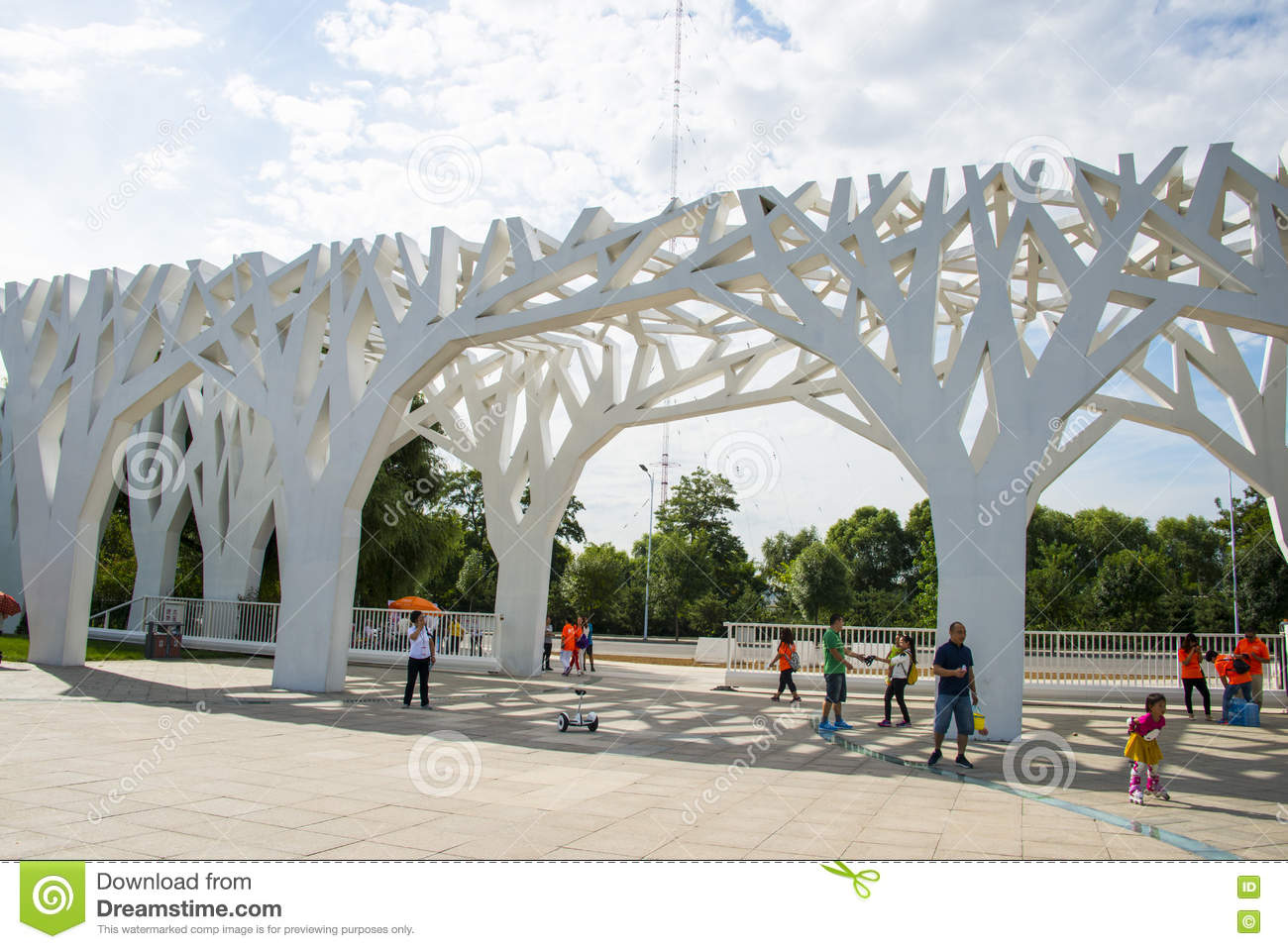 asia-china-beijing-changyang-park-landscape-architecture-park-gate-chinese-city-parks-modern-architectural-style<-gate<tree-77060600 Urban Style Design