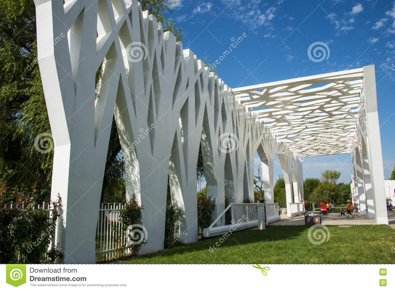 Asia China Beijing Changyang Park Landscape Architecture Park Gate Editorial Image Image Of Early Architecture 77060610