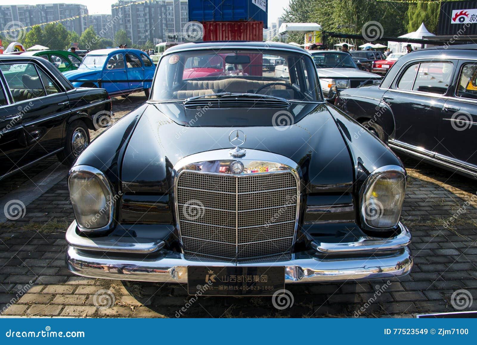 Asia China, Beijing, Classic Car Show,Mercedes-Benz W111 ...