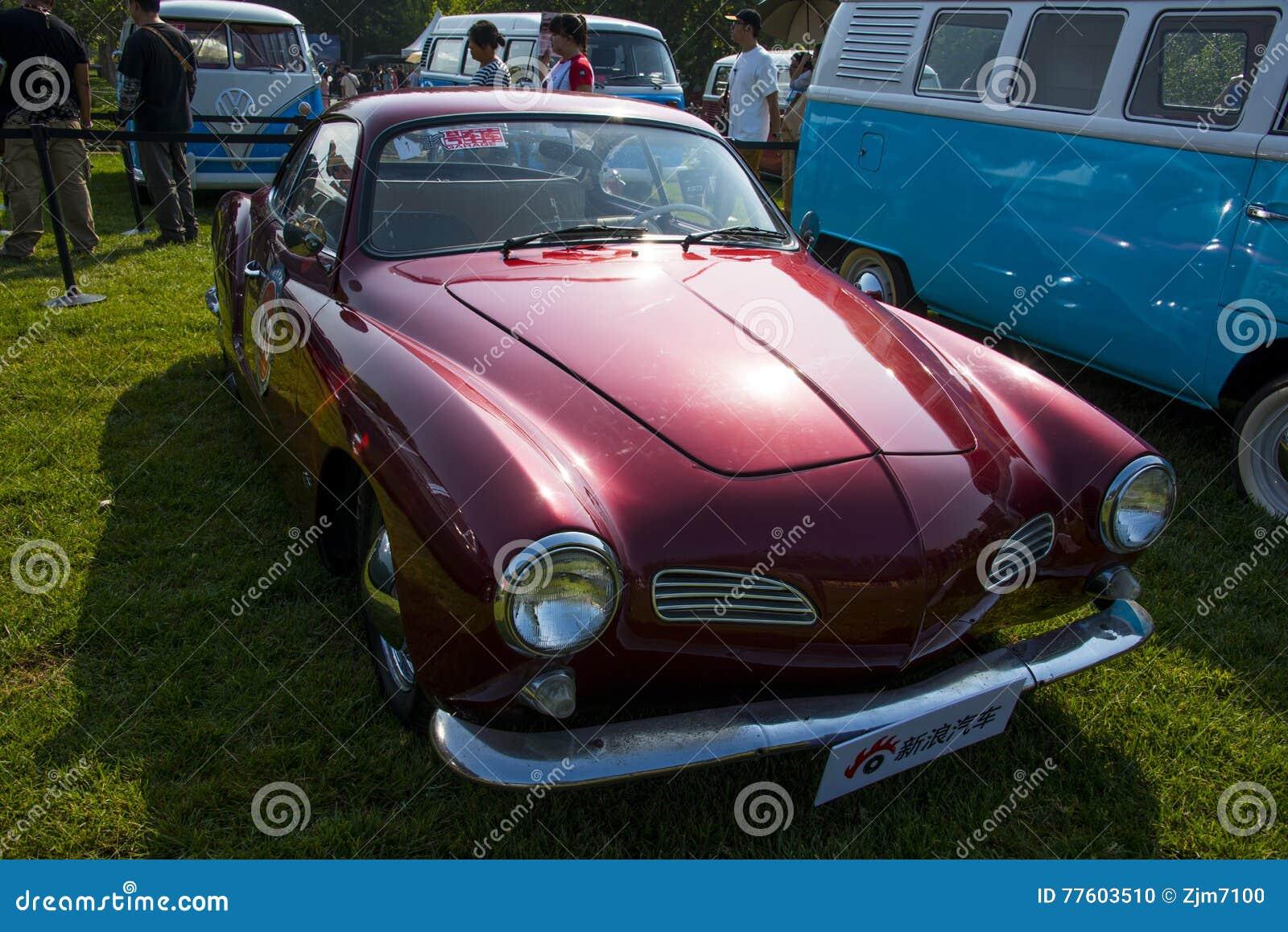 Asia China, Beijing, Classic Car Show, Volkswagen Calman Car
