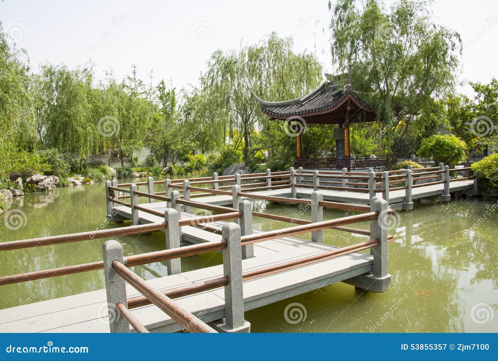 Asia China, Beijing, Garden Expo,Garden Architecture,Pavilion ...