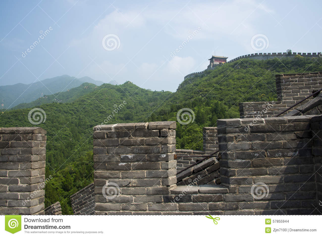 Asia china beijing historic buildings the great wall for Asia famous buildings