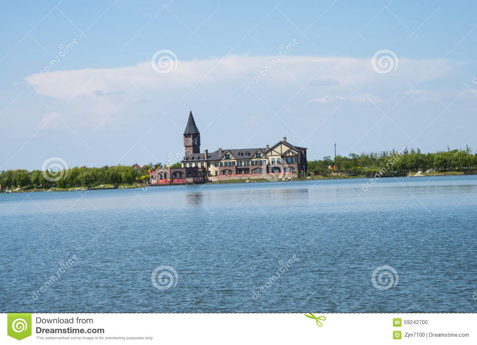 Download Asia China, Wuqing, Tianjin, Expo Verde, Arquitectura Del Jardín, Castillo, Imagen editorial - Imagen de expo, turismo: 59242700