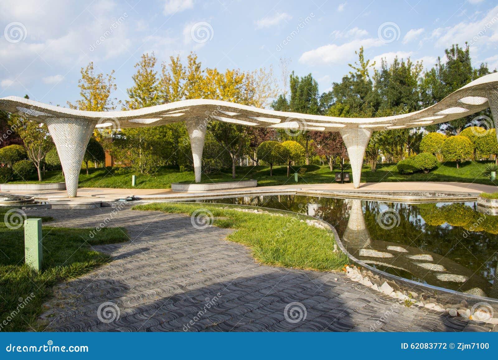 Asia chinese beijing garden expo the garden architecture for Garden architecture