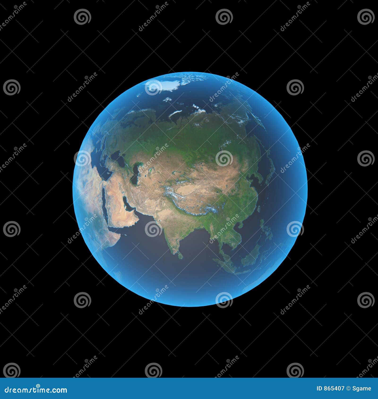 Asia earth