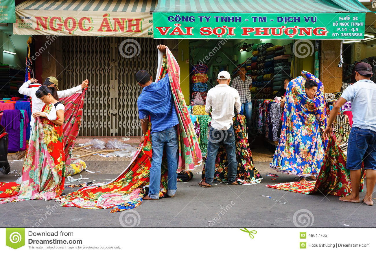 Vietnamese clothing store