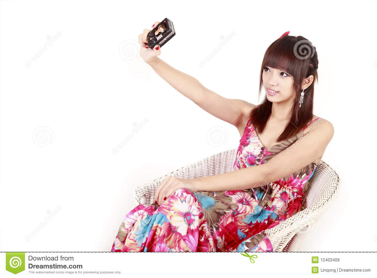 Free self shot pictures Asia Fashion Girl Self Shot Stock Image Image Of Adult Lifestyle 12403409