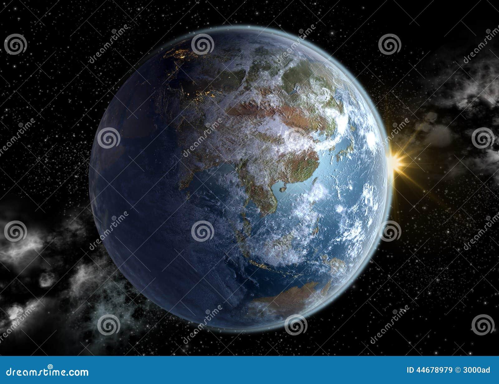 Asia Pacific och Kina i soluppgång