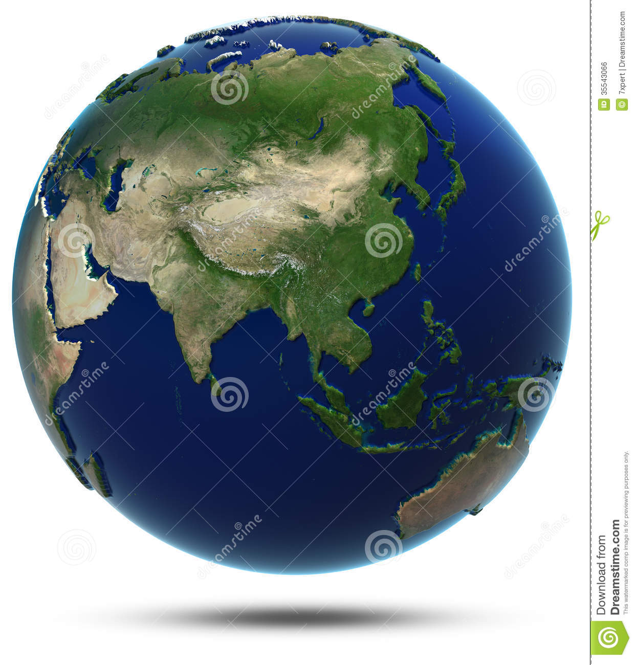 Asia world map stock illustration image of ecology continent asia world map gumiabroncs Choice Image