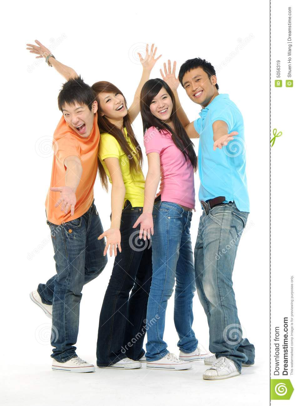 Asia young people