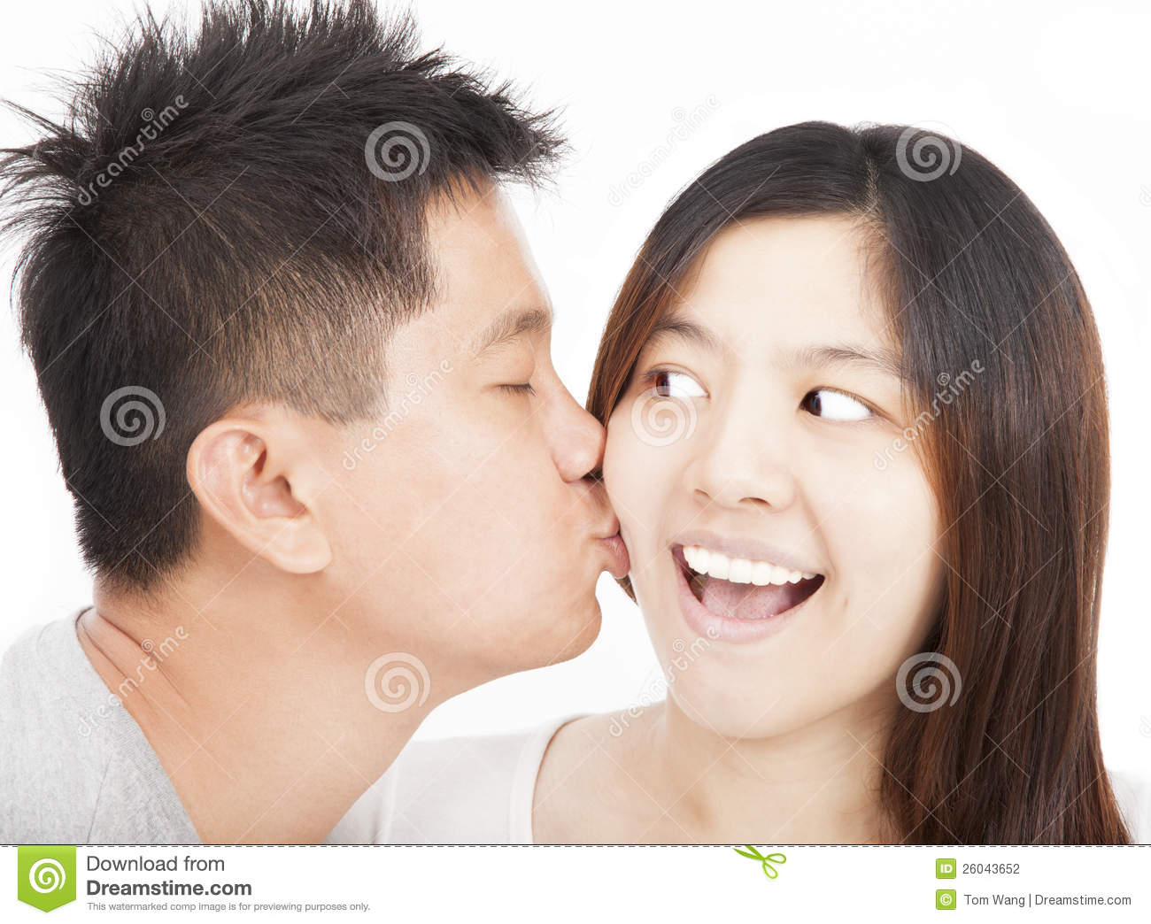 Asian Couples Kissing 95