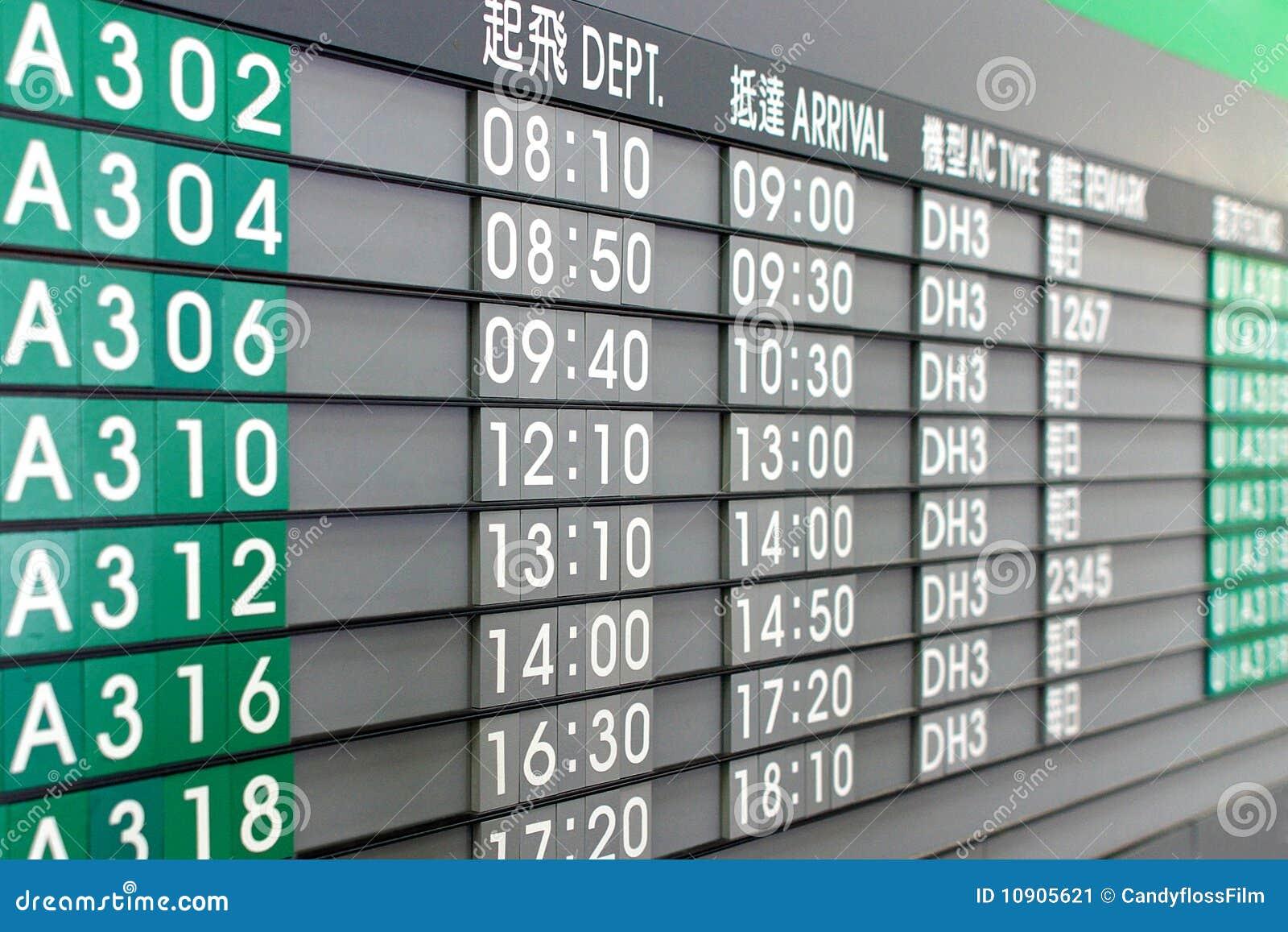 asian airways timetable
