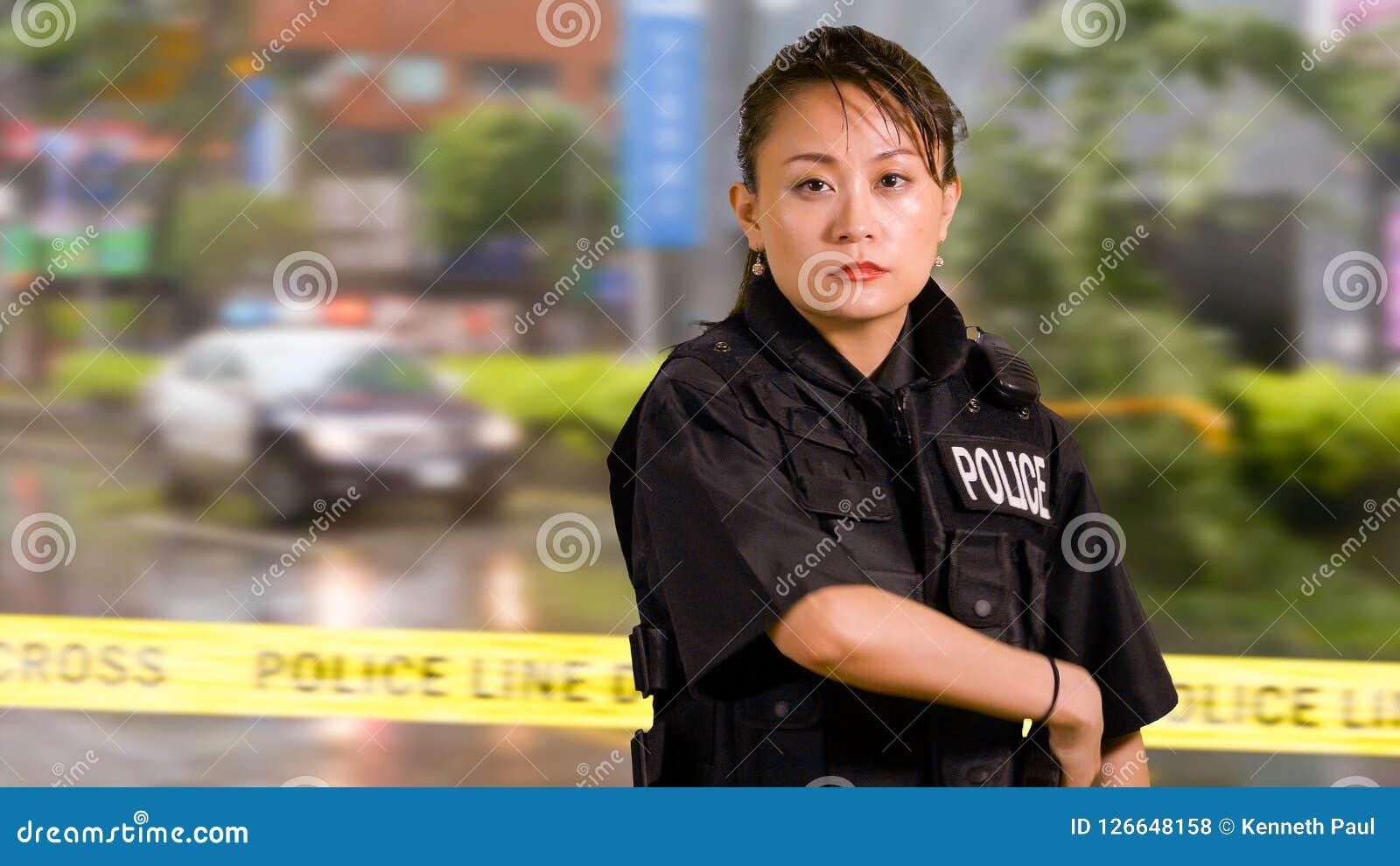 Asian american law enforcement