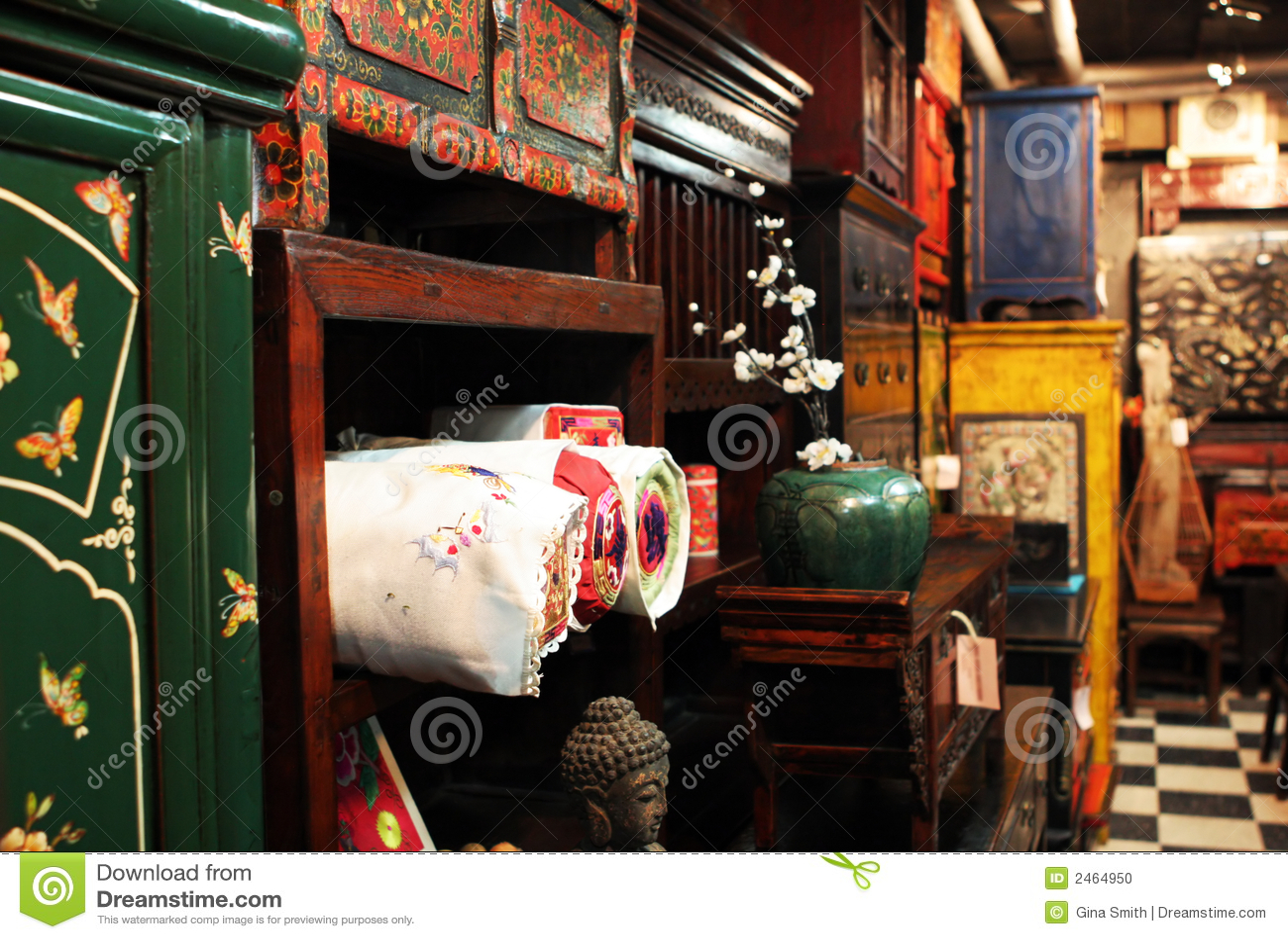 Asian oriental store