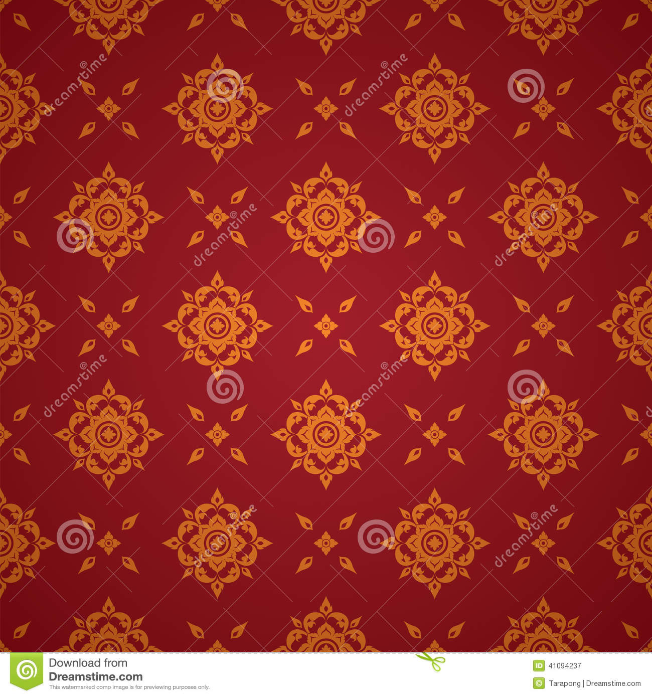 Asian art background thai art pattern vector stock for Thai wallpaper gallery