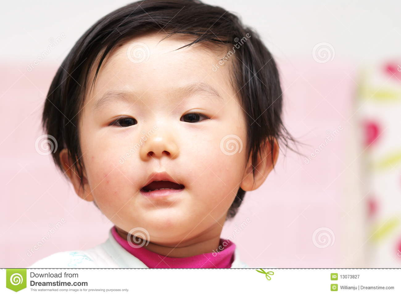 Asian baby stock image  Image of laugh, expression, chinese - 13073827