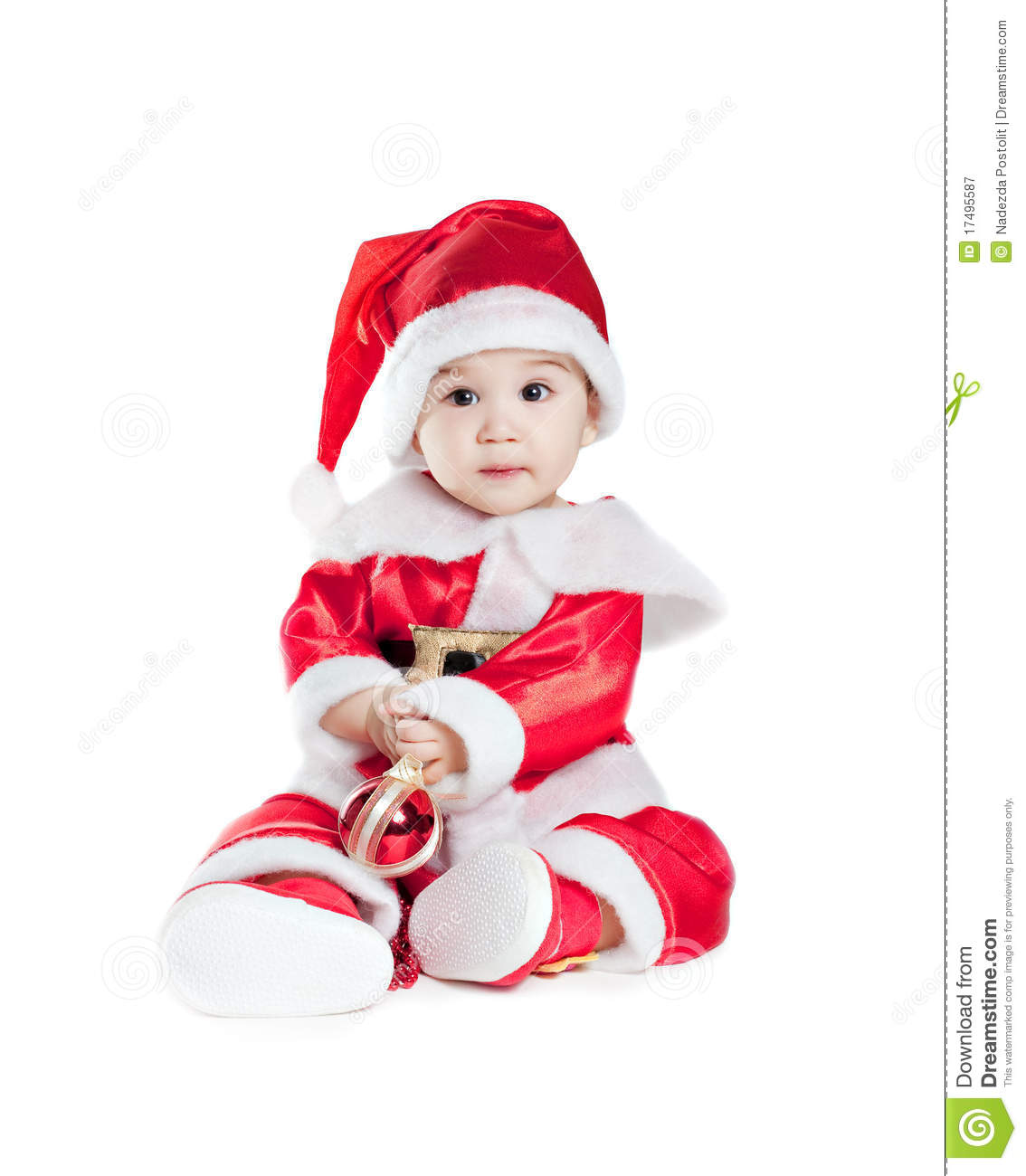Christmas dress for baby - Fancy Christmas Dresses For Babies 35