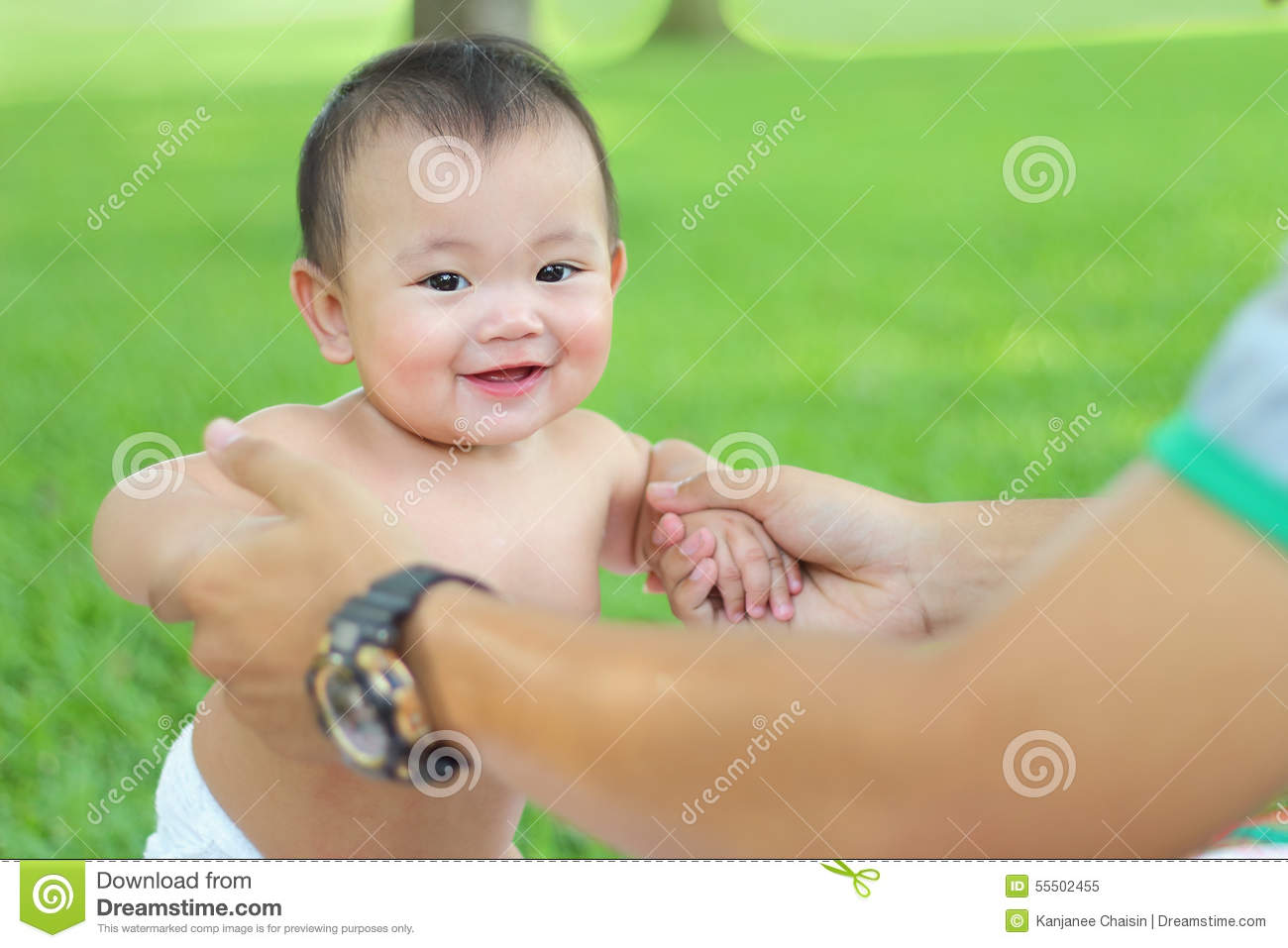 2bde7feec29b Asian Baby girl stock image. Image of lifestyle