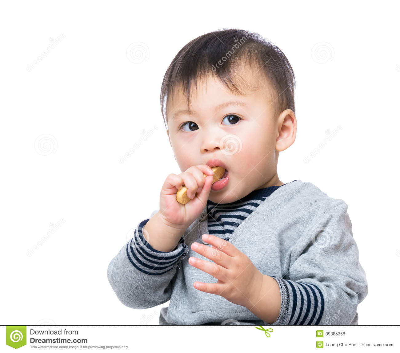 Asian Baby Eating 85