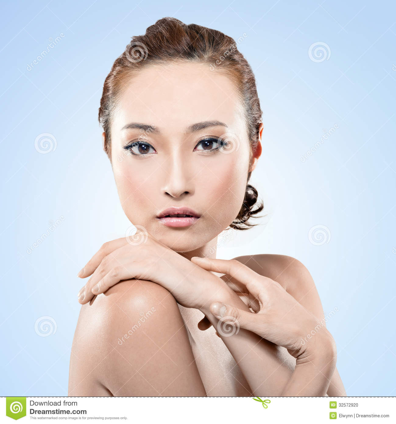 Asian Beauty Stock Photo Image 32572920