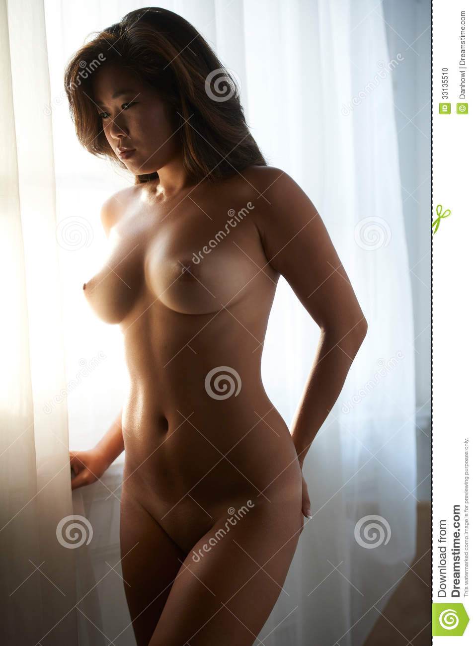Asian Beauty Nude Stock Photo Image Of Nipples, Figure -7390