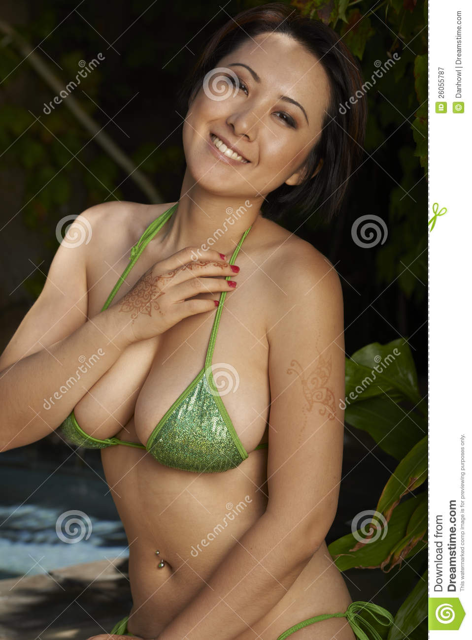Can asian green bikini come forum