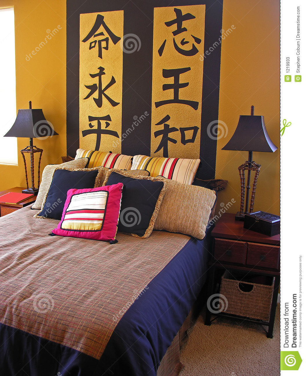 Asian Bedroom stock image. Image of foreign, residential ...