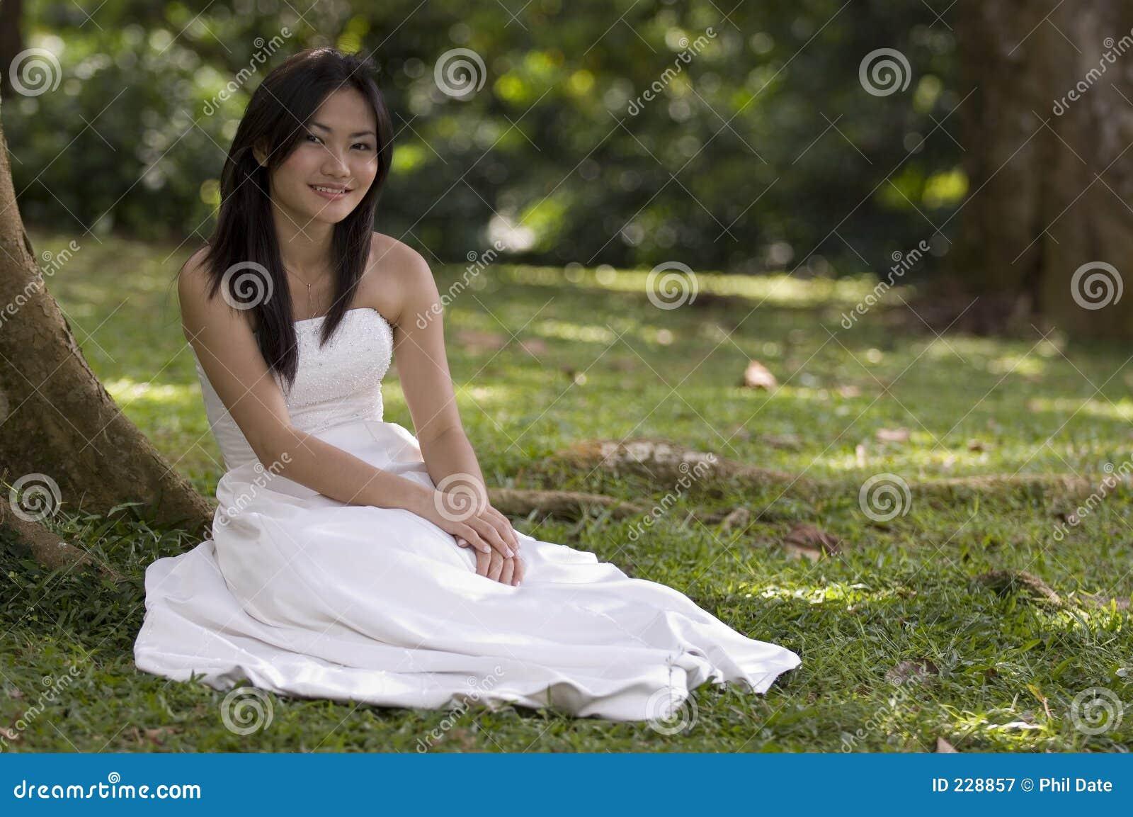 Asian Bride Sits 103