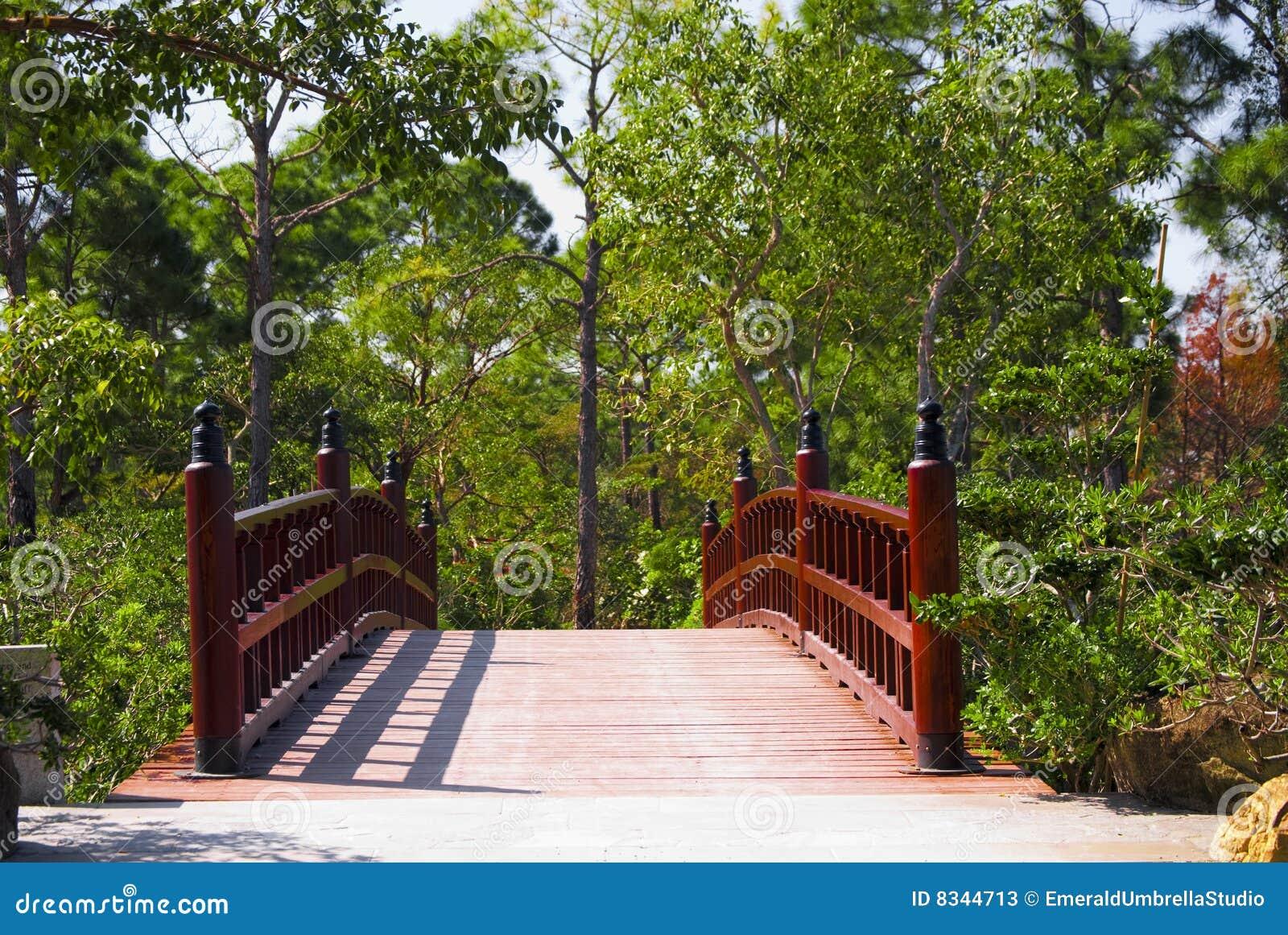 Asian Bridge Stock Photos Image 8344713