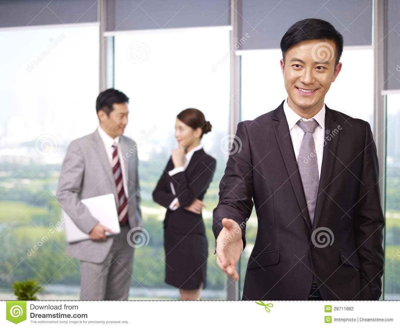 Asian Business People 77