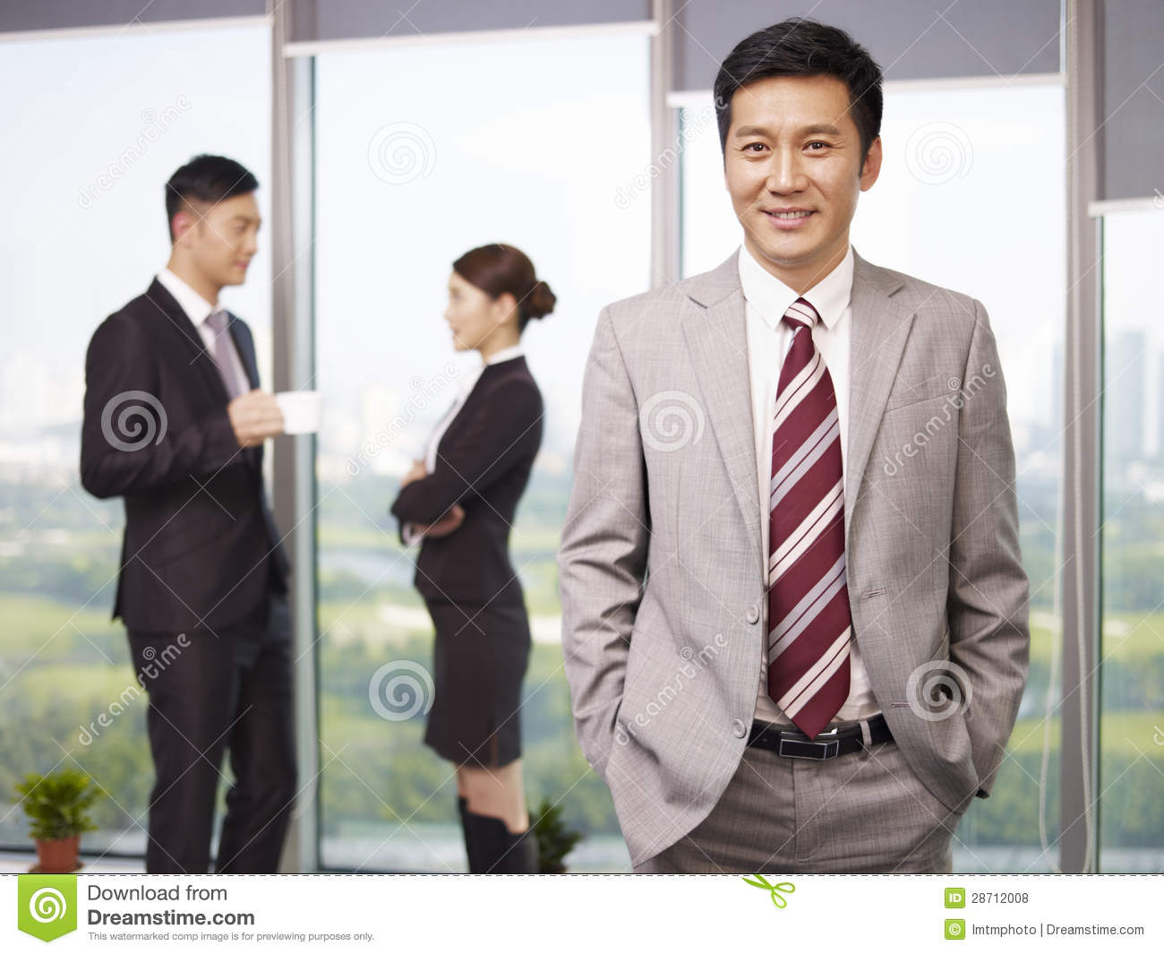 Asian Business People 109