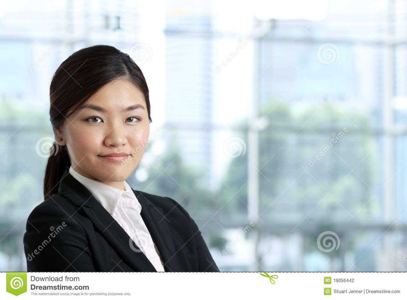 Asian Business Woman Stock Photography - Image 19056442-2419