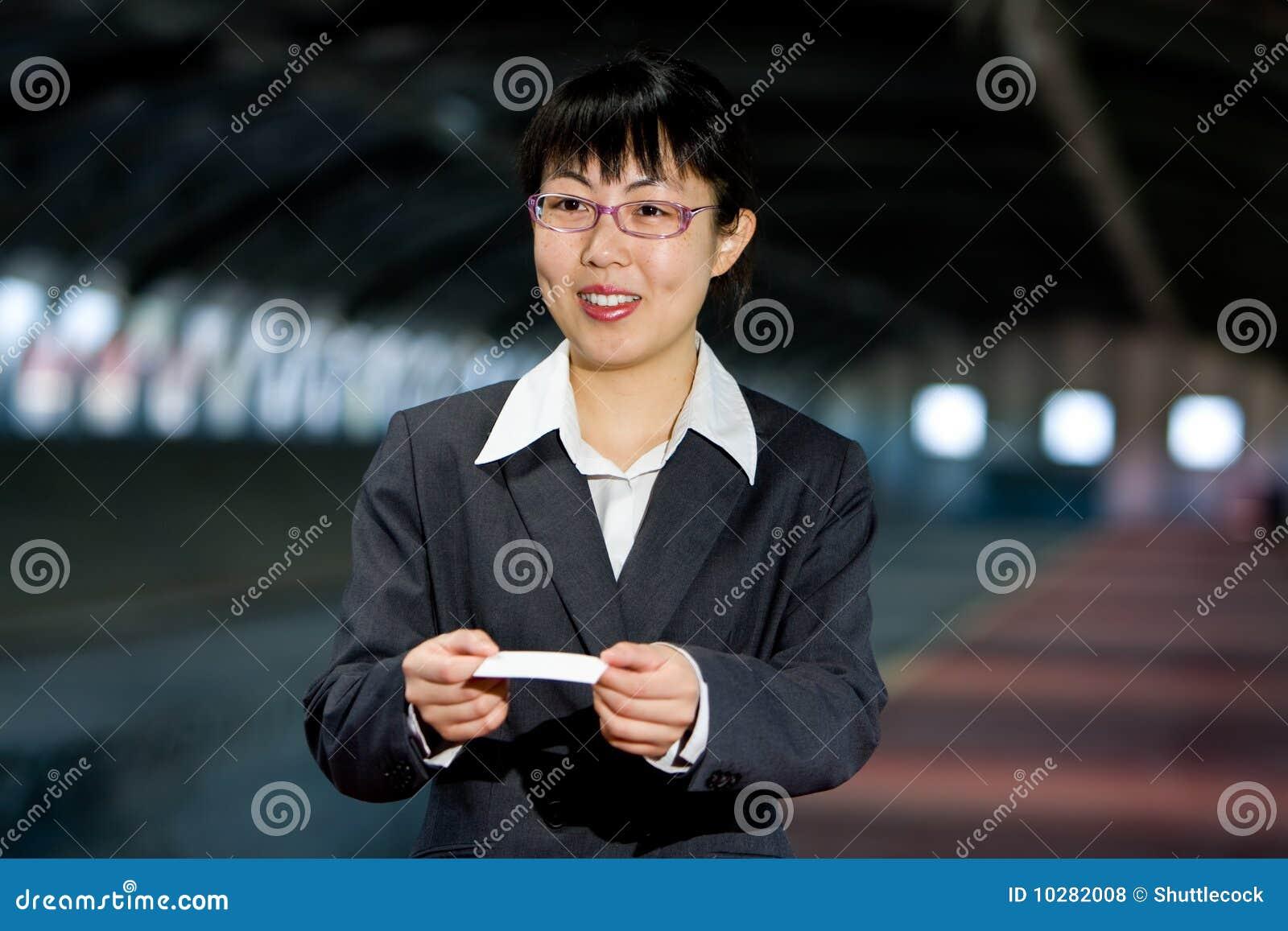 Asian Calling Card 36
