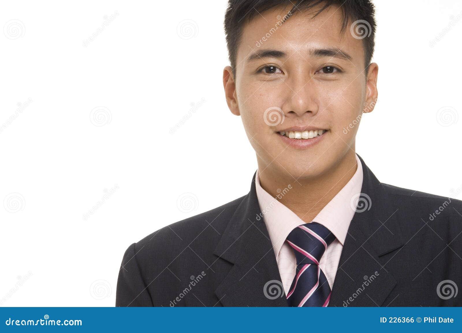 Asian Businessman 2 Stock Photo Image Of Shirt Haircut 226366