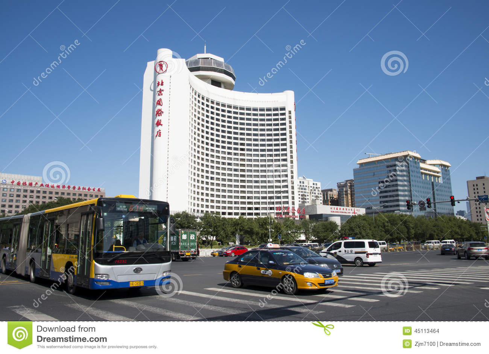 Asian China, Beijing, Beijing International Hotel, Beijing is located ...