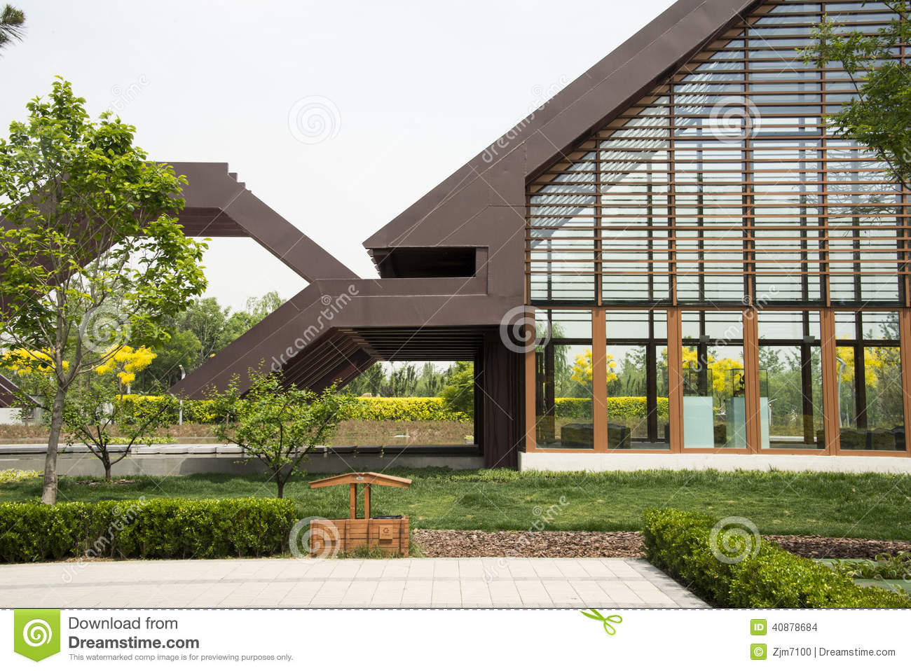 royalty free stock photo - Modern Architecture Exhibition