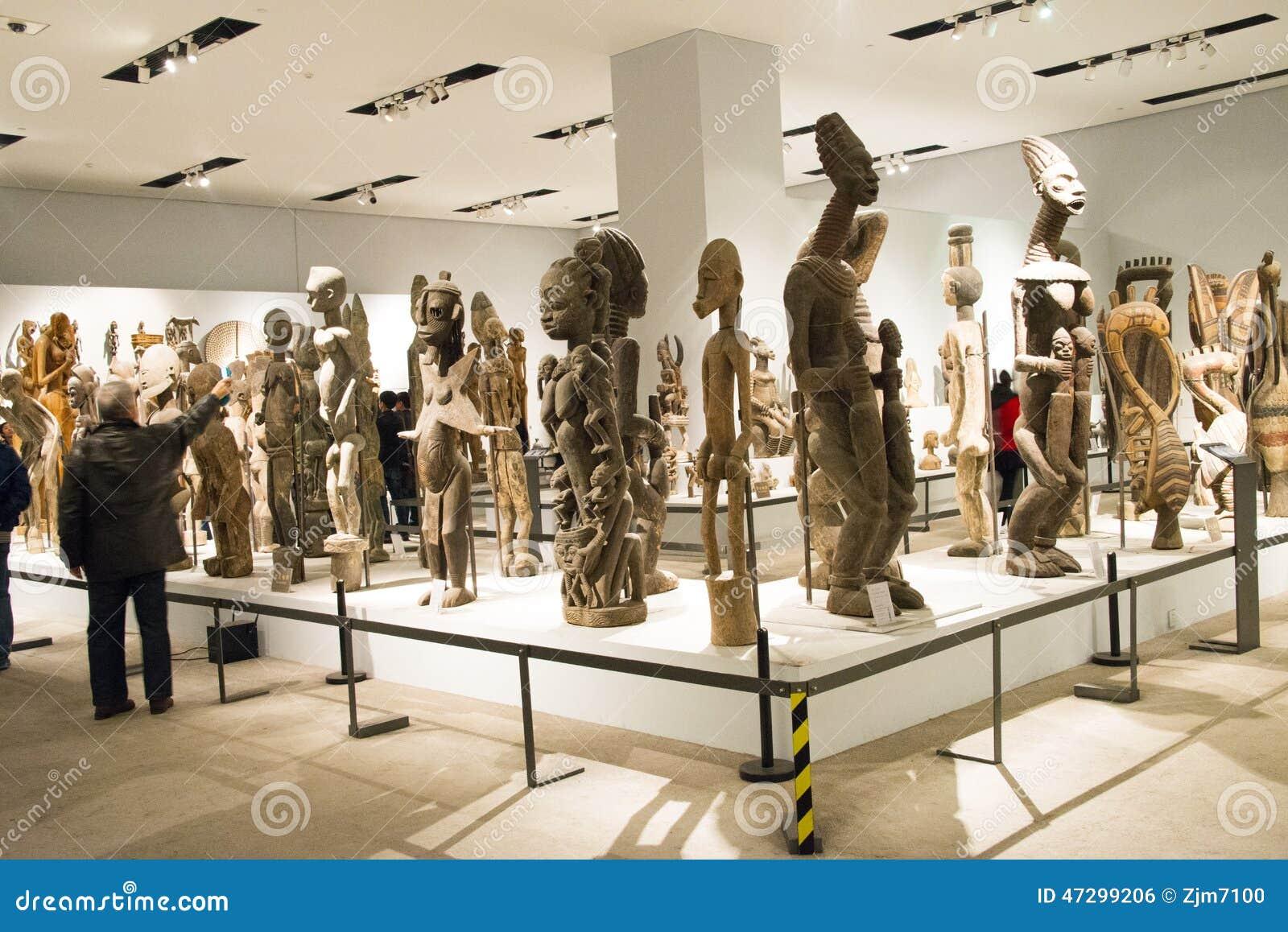 Exhibition Display Lighting : Asian china beijing national museum indoor exhibition