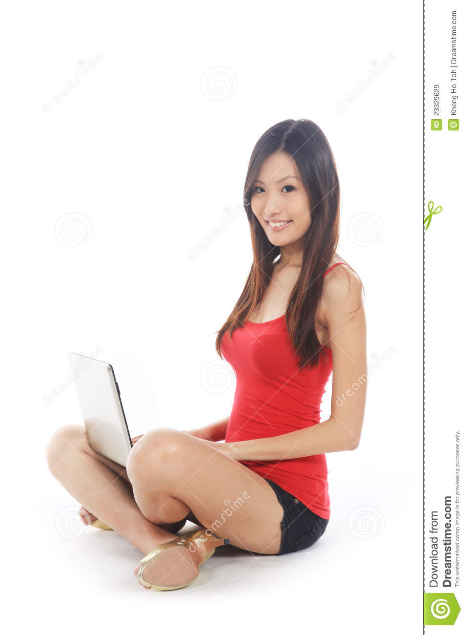 asian chinese female s...